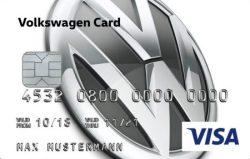VW Bank Visa Card