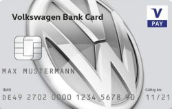 VW Bank girocard